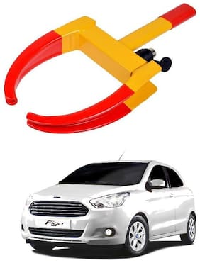 AYW Car Tyre Wheel Lock Anti Theft Towing Wheel Clamp Boot for Figo