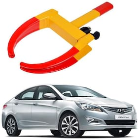 AYW Car Tyre Wheel Lock Anti Theft Towing Wheel Clamp Boot for Verna