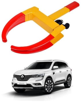 AYW Car Tyre Wheel Lock Anti Theft Towing Wheel Clamp Boot for Koleos