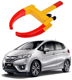 AYW Car Tyre Wheel Lock Anti Theft Towing Wheel Clamp Boot for Jazz