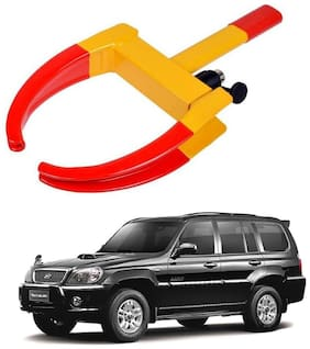 AYW Car Tyre Wheel Lock Anti Theft Towing Wheel Clamp Boot for Terracan