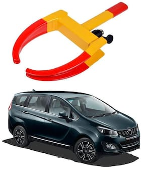 AYW Car Tyre Wheel Lock Anti Theft Towing Wheel Clamp Boot for Mahindra