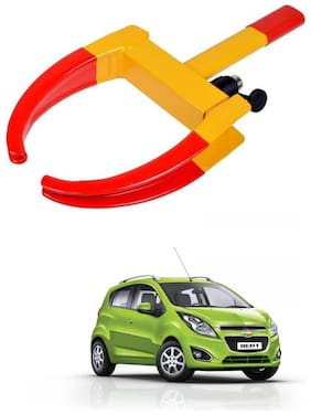 AYW Car Tyre Wheel Lock Anti Theft Towing Wheel Clamp Boot for Beat