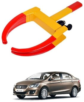 AYW Car Tyre Wheel Lock Anti Theft Towing Wheel Clamp Boot for Ciaz
