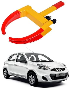 AYW Car Tyre Wheel Lock Anti Theft Towing Wheel Clamp Boot for Micra