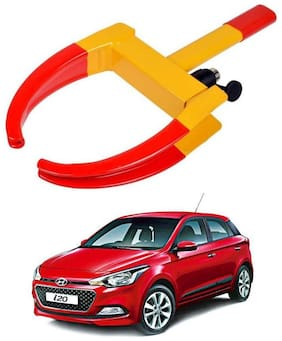 AYW Car Tyre Wheel Lock Anti Theft Towing Wheel Clamp Boot for i20