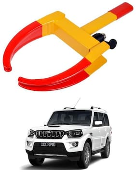AYW Car Tyre Wheel Lock Anti Theft Towing Wheel Clamp Boot for New Scorpio