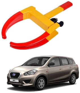 AYW Car Tyre Wheel Lock Anti Theft Towing Wheel Clamp Boot for Go+