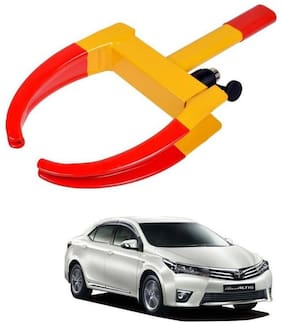 AYW Car Tyre Wheel Lock Anti Theft Towing Wheel Clamp Boot for Corolla Altis