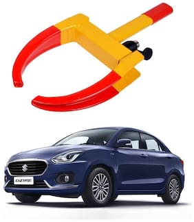 AYW Car Tyre Wheel Lock Anti Theft Towing Wheel Clamp Boot for New Dzire