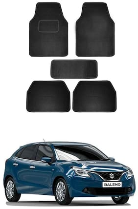 AYW Standard Mat For Baleno Black Color
