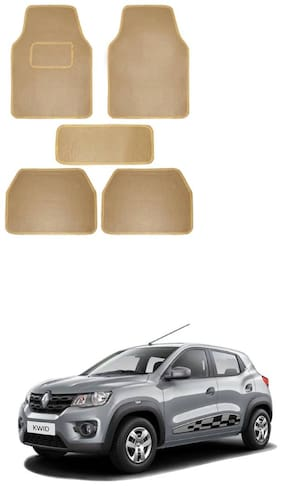 AYW Standard Mat For Kwid Beige Color