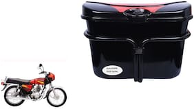 Bajaj 4S Champion Side Luggage Box Black Red Stylish Extra Luggae Box
