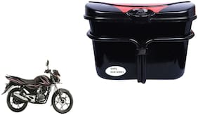 Bajaj Discover 125M Vivo Black Red Side Box Extra Luggage Box to Cary Extra Luggage for Bikes