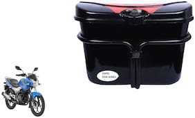 Bajaj Discover 125T Drum Vivo Black Red Side Box Extra Luggage Box to Cary Extra Luggage for Bikes