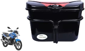 Bajaj New Discover 125 Vivo Black Red Side Box Extra Luggage Box to Cary Extra Luggage for Bikes