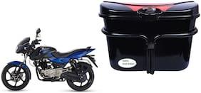 Bajaj Pulsar 150 DTSi Vivo Black Red Side Box Extra Luggage Box to Cary Extra Luggage for Bikes
