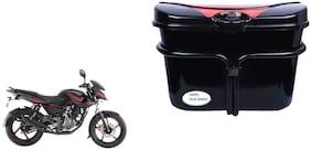 Bajaj Pulsar 135 LS DTSi Vivo Black Red Side Box Extra Luggage Box to Cary Extra Luggage for Bikes