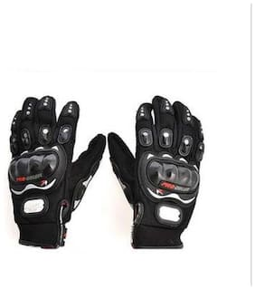 Balajidarbar Pro Biker Black Gloves Size Xxl