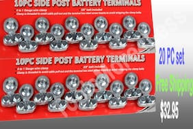 BATTERY TERMINAL SIDE TOP POST TYPE 20 PC