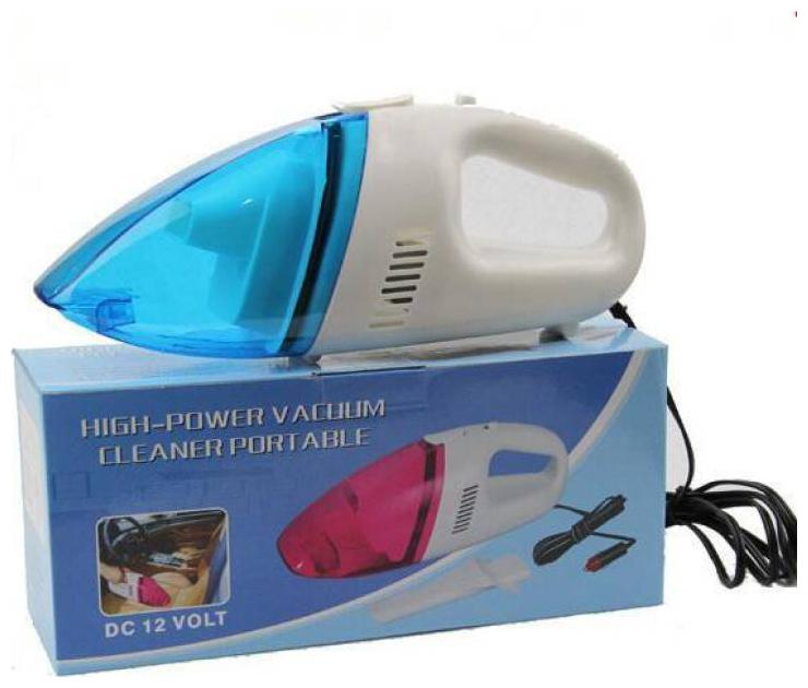 Battlestar Handheld 12V Powerful Car Vacuum Cleaner Blue Color Cleaner Wet and Dry Vacuum Cleaner for Vehicle Dust Collector
