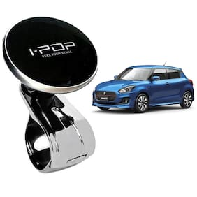Bazaar Gali Car Steering Knob/Spinner Knob with 360 Degree Rotaion for All Cars (Pack of 1) Black