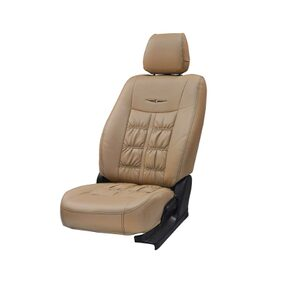 Beige Nappa Art Leather Seat Cover for Maruti Suzuki Scross (2015-2017) From Stallion By Elegant