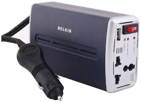 Belkin AC Anywhere Power Inverter Car Charger Convert 12v DC into 220v AC