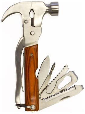 Bemoree Multiutility 10 In 1 Hammer Tool Kit CAing & Hiking Safety Toolkit car toolkit - Hammertoolkit