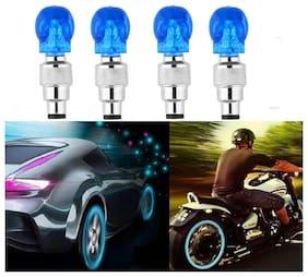BG Bazzar Gali Skull Universal Car/Bike Tyre LED Light with Motion Sensor (Set of 4)