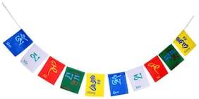 BharatBuyz Tibetan Budhists Prayer Flag for Car (75 CM)