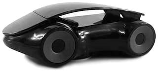 Bigwheels MD-04 Stylish Sports Car Model Design Shape 360-Degree Rotation Mobile Car Dashboard Mount Decorative Holder Stand With Double Grip Holder For Windscreen,Car Dashboard & Table Desk (Black)