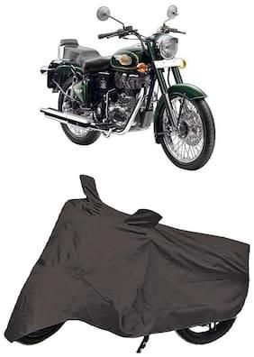 Bigwheels Premium Quality Grey Matty Bike Body Cover for Royal Enfield Bullet 500