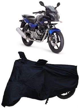 Bigwheels Premium Quality Black Matty Two Wheeler Bike Body Cover For Bajaj Pulsar 220