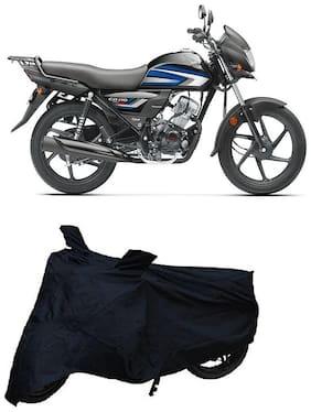 Bigwheels Premium Quality Black Matty Two Wheeler Bike Body Cover For Honda CD 110 Dream