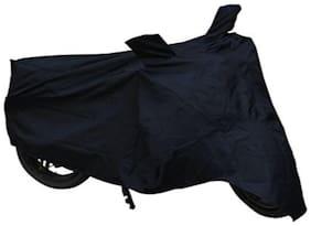 BIGZOOM Bike Body Cover With Two Mirror Pocket (Black) TVS Apache