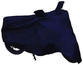 BIGZOOM Bike Body Cover With Two Mirror Pocket (Blue) TVS Jupiter