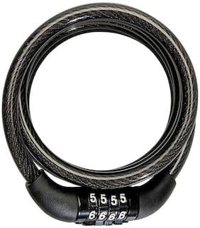 Bigzoom Bike Helmet Lock (Black) For  Hero HF Dawn