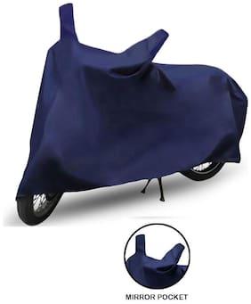 Bigzoom Blue Bike cover For Bajaj Boxer CT