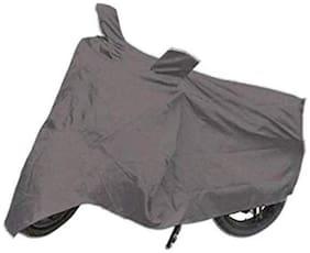 Bigzoom Grey Bike cover For  Bajaj Pulsar AS 150