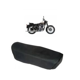 Bigzoom Heavy Duty Long Lasting bike Seat Cover for Royal Enfield 350 Twin Spark