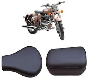 Bigzoom Heavy Duty Long Lasting bike Seat Cover for Royal Enfield Classic Desert Storm