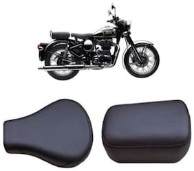 Bigzoom Heavy Duty Long Lasting bike Seat Cover for Royal Enfield Classic chrome