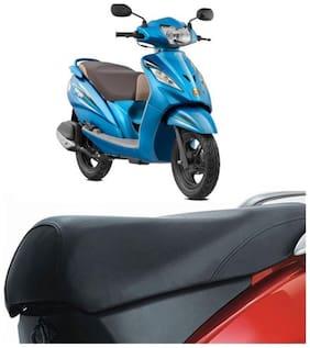 Bigzoom Heavy Duty Long Lasting bike Seat Cover for TVS Wego