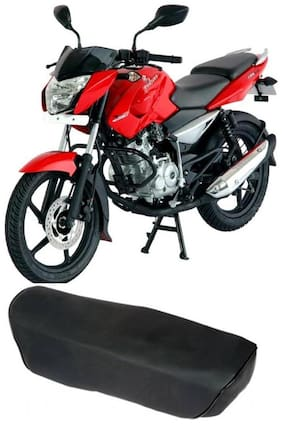Bigzoom Heavy Duty Long Lasting bike Seat Cover for Bajaj Pulsar 135 LS DTS-i