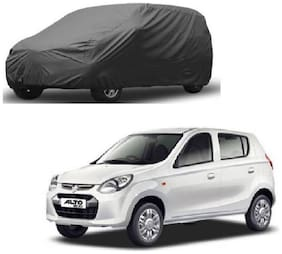 Bigzoom Premium Quality 95% water resistant Grey car cover for Alto 800