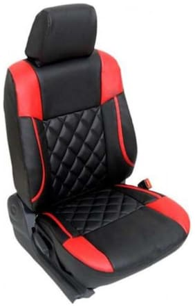 Bigzoom Premium Quality Perfect Fit And Durable Leatherite Car Seat Cover for GO