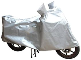 Bigzoom Silver Bike cover For  Bajaj Pulsar AS 150