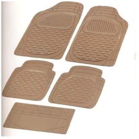 Bigzoom Standart (Packy Poda) Car Floor Mats Set Of 5 Beige For -Hyundai Creta