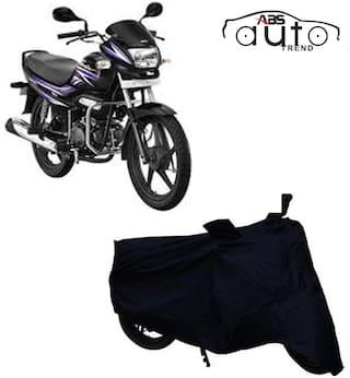 ABS AUTO TREND Bike Body Cover For  Hero Super Splendor ( Black )